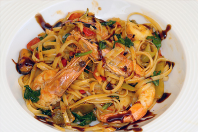 Seafood Pasta RX Catering